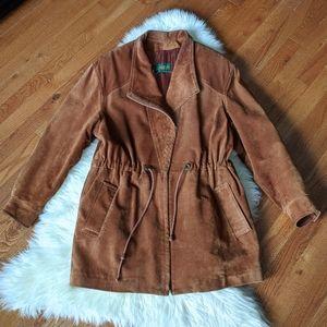 Vintage 90s Danier leather suede jacket